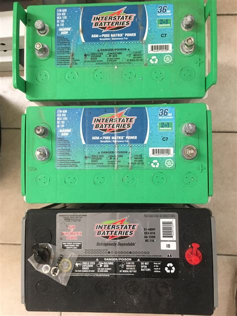 battery batteries interstate agm 31 brand different