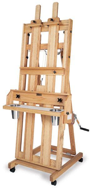 instructions  build  artist easel woodworking