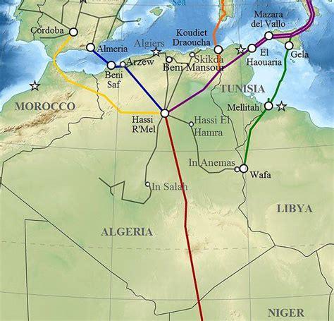 Carte Villes Maroc Pdf by Carte De L Alg 233 Rie Villes Routes Relief