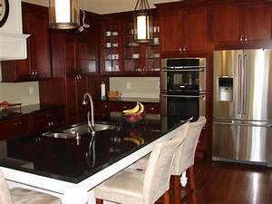 Kitchen : Kitchen Color Ideas With Oak Cabinets And Black ...