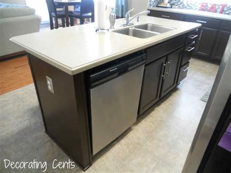 Kitchen Island With Dishwasher And Sink by Kitchen Island With Sink And Dishwasher Deductour