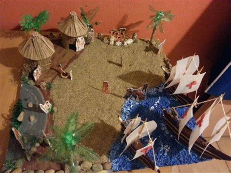 maqueta indios reciclaje maquetas maquetas