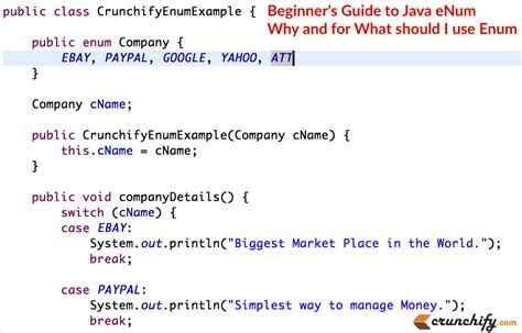 java template beginner s guide to java enum why and for what should i use enum java enum exles crunchify
