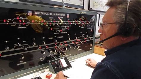 Weber Trains Dispatch Center - YouTube