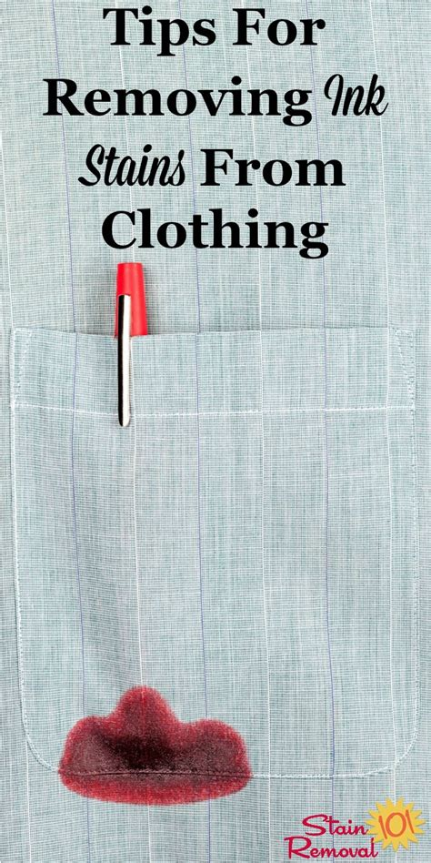 remove ink from clothing removing ink stains from clothing tips and hints you can use