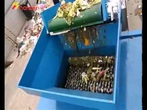 kitchen waste shredder youtube