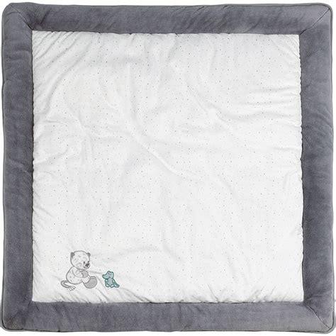 tapis de parc 100x100 cm lea loulou hippolyte de nattou chez naturab 233 b 233