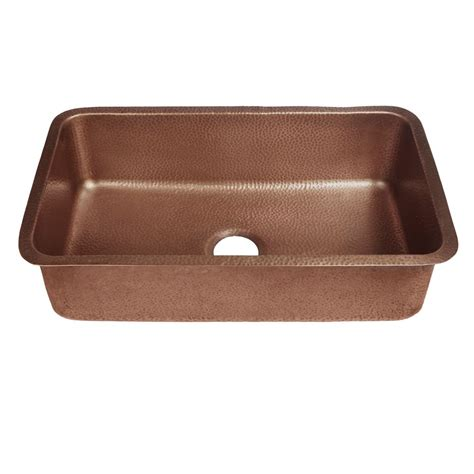copper sinks kitchen sinkology rockwell farmhouse apron front handmade 2586