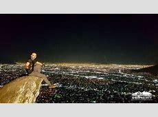Cerro Del Chupon Nocturno Monterrey
