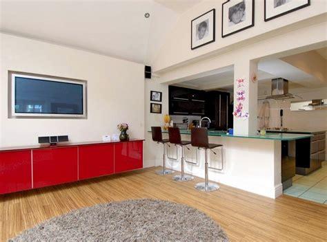 idee bar cuisine ouverte cuisine ouverte sur salon en 55 id 233 es open space superbes