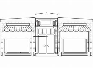 clipartist.net » Clip Art » Abstract Store House Fronts ...