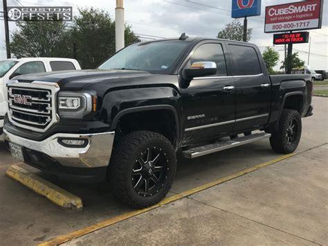 2018 Gmc Sierra 1500 Fuel 538 Zone Suspension Lift 45in