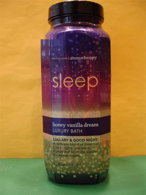bath body works aromatherapy honey vanilla dream luxury