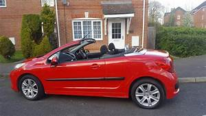 2007 Peugeot 207 Sport Cc Finished In Red  Manual   Roof Fully Operational  Hpi Clear