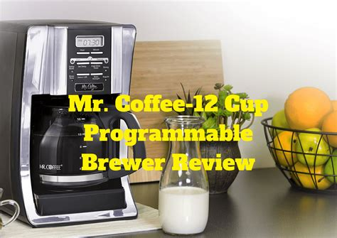 Brew now, brew later programmable coffee maker also has a brew later feature that allows you to set the coffee maker ahead, and wake up to freshly brewed coffee The Mr. Coffee 12 Cup Programmable Brewer Review: Pros and Cons - 2Caffeinated