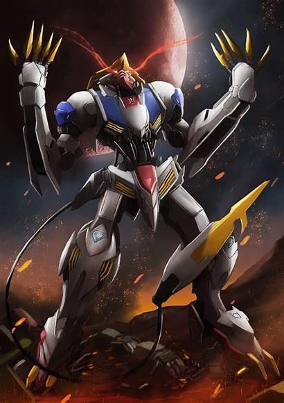 Gundam Barbatos Lupus Rex Iphone Wallpapers Bael