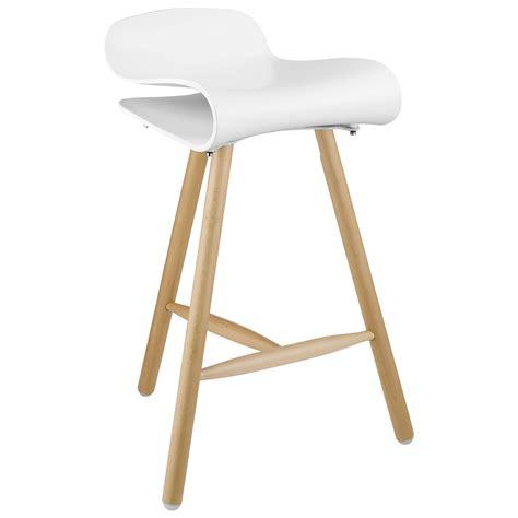 white wood bar stools providing enjoyment in your kitchen