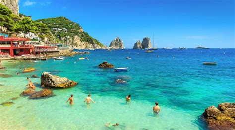 Beautiful Capri Island In Southern Italy Feyster