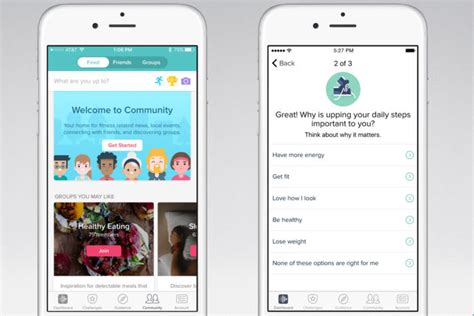 fitbit iphone fitbit overhauls its app experience with groups and guided