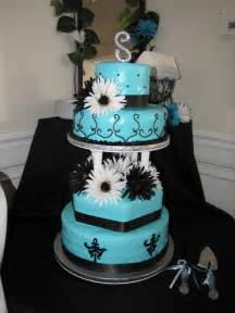 and black wedding cakes leilani 39 s heavenly cakes blue and black wedding cake