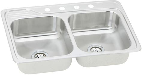 33x22 Sink Cut Out by Elkay Ecc33223 33 Inch Top Mount Bowl Stainless