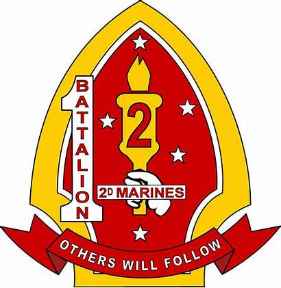 Marines 2nd Battalion Marine 1st Division Insignia