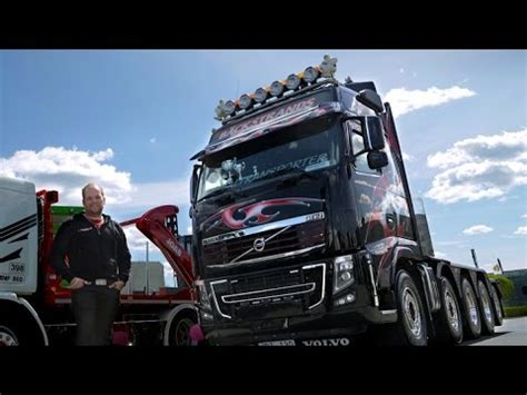 volvo trucks  black beauty   volvo fh