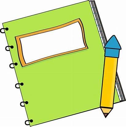 Notebook Pencil Clip Supplies Graphics Vector Supply