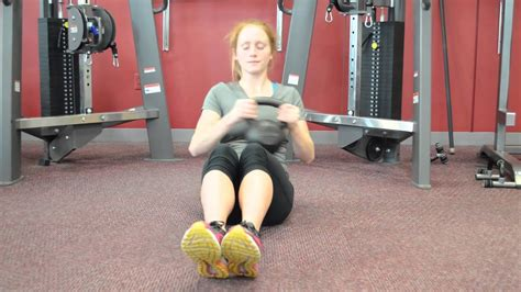 kettlebell russian twists perform