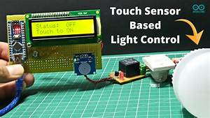 Light On And Off Controling Using Touch Sensor
