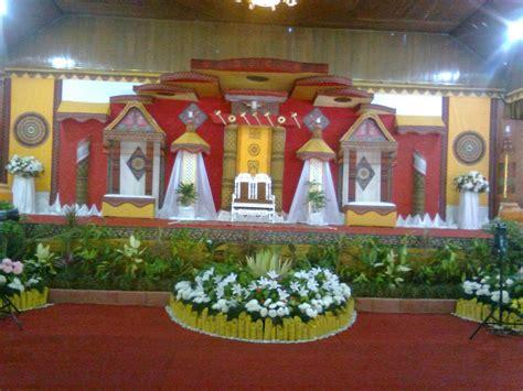 desain panggung pernikahan desain panggung pernikahan toraja