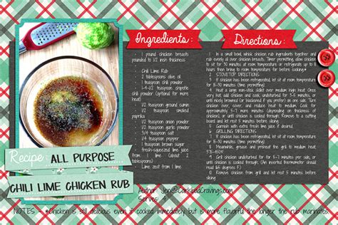 digital scrapbook templates  recipe card