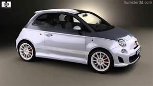 Fiat 500 2010 : fiat 500 c abarth esseesse 2010 by 3d model store youtube ~ Medecine-chirurgie-esthetiques.com Avis de Voitures