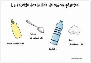 Recette Bulles De Savon : la recette des bulles de savon g antes le blog de jolicours ~ Melissatoandfro.com Idées de Décoration