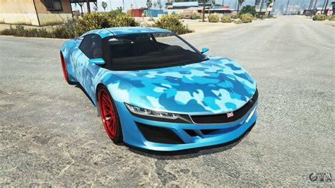 dinka jester racecar camo blue  gta