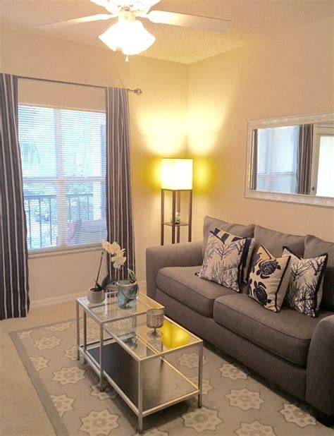 simple apartment decoration   steal living room