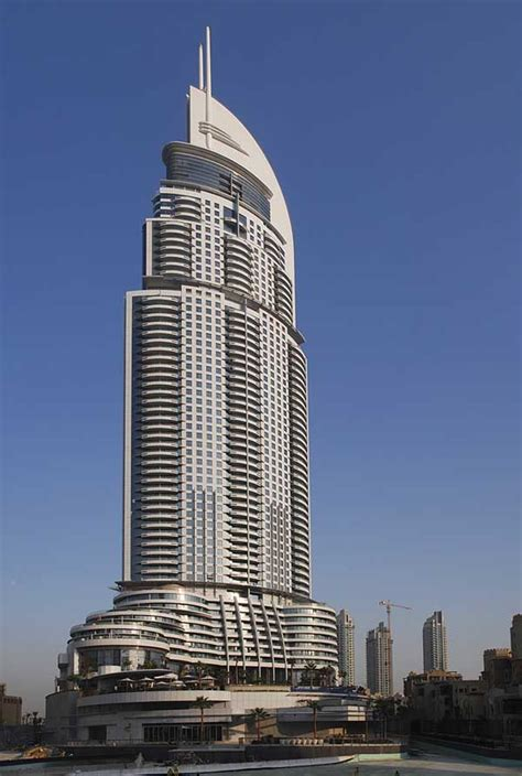 address dubai uae skyscraper fire  architect