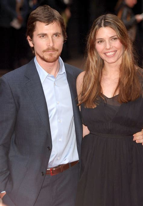 Christian Bale With Wife Hollywood