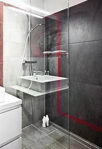 Paroi Salle De Bain : paroi verre douche italienne amazing paroi verre douche ~ Premium-room.com Idées de Décoration