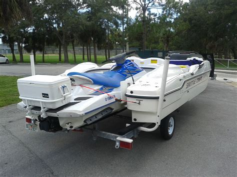 Jet Ski Sport Deck Boat by Shuttlecraft Sport Deck 2001 For Sale For 8 000 Boats