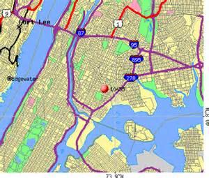 New York City Zip Code Map