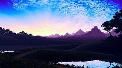 Pixel Nature Backgrounds Wallpapers Desktop Mobile Powerpoint