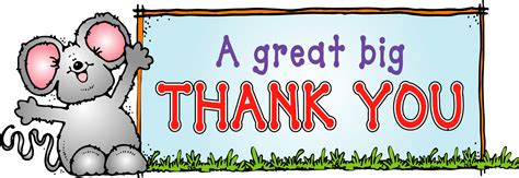 Free Thank You Clipart Thank You For Your Help Clipart
