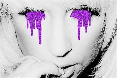 Tears Glitter Purple Beauty Deserve Glo Otp