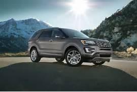 Ford Explorer Exterior Colors by 2017 Ford Explorer SUV Photos Videos Colors 360 Views