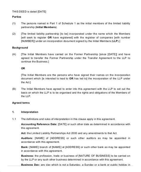 partnership agreement 20 free word pdf documents free premium templates