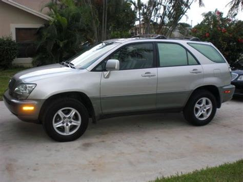 Sell Used 2002 One Owner Low Miles Lexus Rx 300 Boca Raton