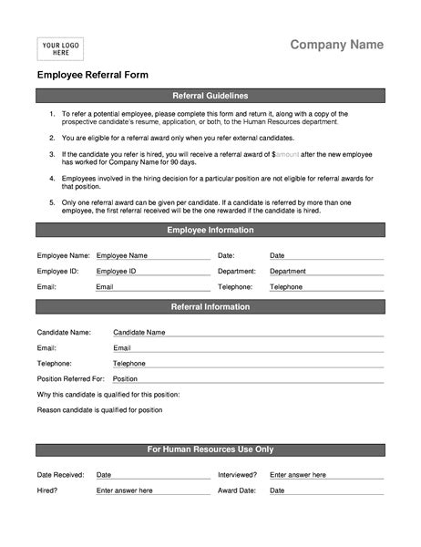 employee referral forms charlotte clergy coalition