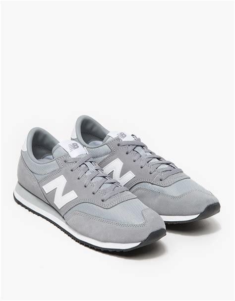 lyst new balance 620 in grey in gray