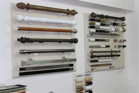 curtain track and rod types